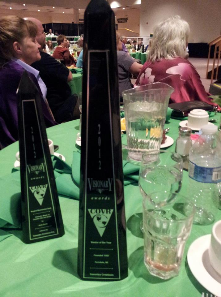 COVR Awards — Jacki and Patty Win Big In Denver
