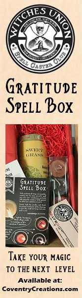 Gratitude Spell Box from Coventry Creations